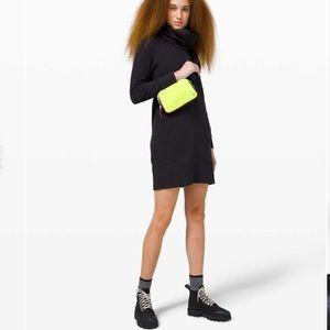 New Lululemon Everywhere Neon Green Belt Bag